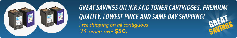 Great savings on Ink and Toner